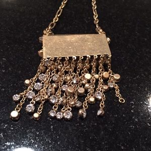 J. Crew Jewelry - J Crew long sparkly necklace